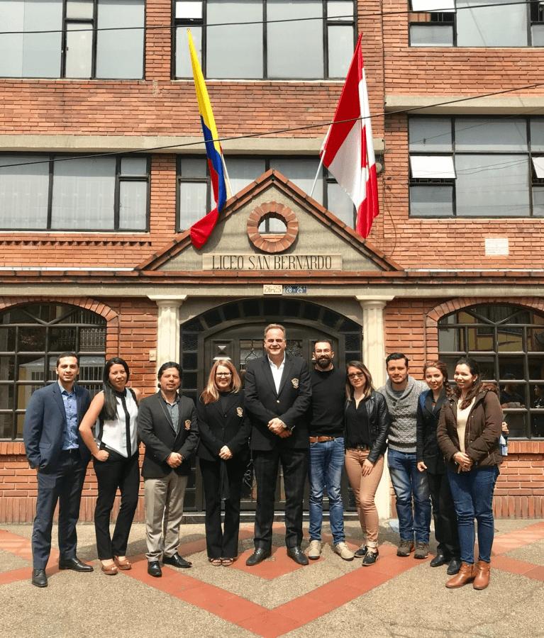 LLI opens in Bogota Colombia- Liceo San Bernardo